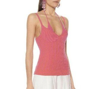 Like new Jacquemus knit vest in pink FR36